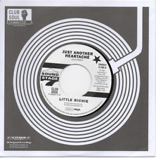 LITTLE RICHIE Just Another Heartache / One Bo-Dill NEW NORTHERN SOUL 45 (CHARLY