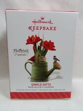 2014 Hallmark Keepsake Ornament Simple Gifts Marjolein's Garden #1 Loc B39