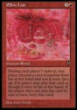 MTG 4x ELKIN LAIR - Visions *Rare Enchant World*