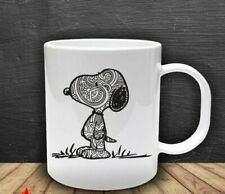 Zentangle Mandala Snoopy Coffee Mug 11 Oz Ceramic Coffee Mug
