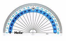 Helix 180 gradi Goniometro Scuola Goniometro semi cerchio 10cm NUOVI h01040