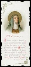 antico santino cromo-holy card S.VERONICA GIULIANI