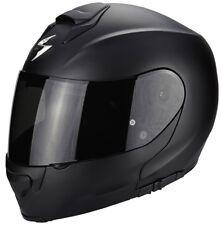 Helmet Openable Fiber Scorpion EXO 3000 Air Solid Matte Black M