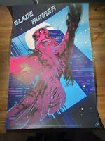 Blade Runner Variant Edition Art Print Poster By Zi Xu XX/90 Bottleneck Mondo