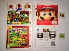 Super Mario 3d Land Mario Tennis Open Lot 2 Jeux Nintendo 3ds 3dsxl Multilangue
