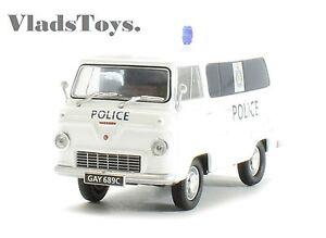 Oxford Military 1/43 Ford 400E Van Glamorgan Police FDE012