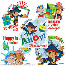 Jake and the Neverland Pirates Stickers x 5 - Christmas Stickers - Disney Jake