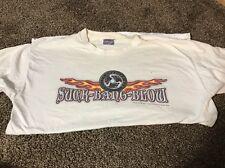 Suck Bang Blow Biker Bar T-Shirt Mens Sz Lg Murrells Inlet SC Skull Myrtle Beach
