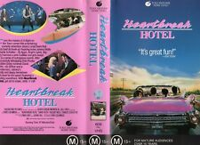 HEARTBREAK HOTEL - VHS - PAL - NEW - Never played! - Original Oz release