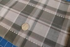 Remnant Poly Viscose suiting Fabric - Taupe tartan 1.60mts x 150cm - R314