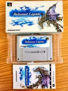 Bahamut Lagoon Nintendo Super Famicom Japan SNES Tested & Works well