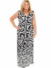 Geometric Sleeveless Dresses Size Tall for Women