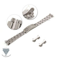 20mm Watch Band Bracelet For Rolex Explorer Watches Flip Lock Clasp + Tools