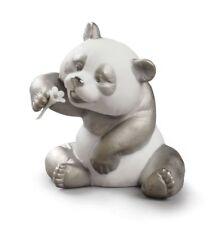 NEW LLADRO A CHEERFUL PANDA RE-DECO FIGURINE BRAND NEW IN BOX #9088 CUTE F/SH