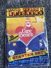 NEW Panini Sticker Album CARE BEARS With Stickers Factory Sealed