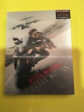 Mission Impossible Rogue Nation Blufans Blu-ray Steelbook Lenticular Mint NEW