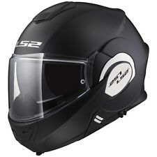 Casco plegable ls2 ff399 Valiant Matt Black negro/mate talla XL