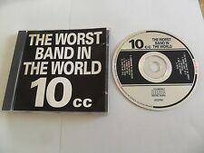 10cc ‎– The Worst Band In The World (CD) UK Pressing