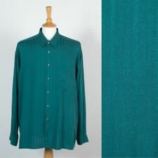 Viscose Rockabilly Collared Casual Shirts & Tops for Men