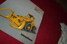 International Harvester H-80B Pay Loader Logger Dealers Brochure DCPA5