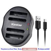 Kastar Battery Dual Charger for Olympus Li-50B & Stylus 1020 Stylus 1030SW XZ-1