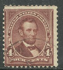 U.S. Postage Stamp scott 269 - 4 cent Lincoln issue of 1895