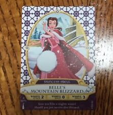 Sorcerers Of The Magic Kingdom Belle's Mountain Blizzard Princess Spell Card