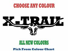 Nissan X-TRAIL 1000mm LONGHORN DECAL *CHOICE OF COLOURS* RM Williams STICKER