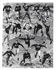 1947 NOTRE DAME TEAM 8X10 PHOTO FIGHTING IRISH PICTURE NCAA FOOTBALL COLLAGE