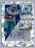 DORANCE ARMSTRONG  2018 Contenders Cracked Ice Variation Rookie Ticket AUTO /24