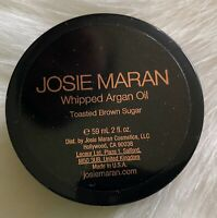 "Josie Maran Whipped Argan Oil Toasted Brown Sugar 59ml/ 2 Fl Oz ""SEALED"" New"