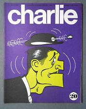 ►MENSUEL CHARLIE 20/1970  WOLINSKI - WILLEM - SCHULTZ/PEANUTS - CAVANNA