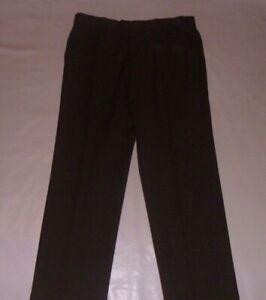 M&S Sage Brown Trousers Size 36W, 31L