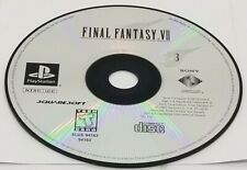 DISC #3: Final Fantasy VII (Sony PlayStation, 1997) GREATEST HITS REPLACEMENT
