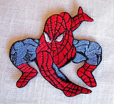 ECUSSON PATCH BRODE  thermocoll​ant - SPIDERMAN N°1 - 6,5 X 6,5 cm