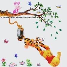 Winnie the Pooh Tigger Tree Piglet Swing Wall stickers Children bedroom Nursery
