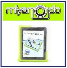 """DiCAPac WP-T20 (Green) Waterproof Case for over 10"""" Tablet"""