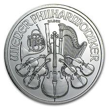 2009 Austria 1 oz Silver Philharmonic BU - SKU #49752