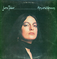 1976 - English Folk LP - June Tabor - Airs and Graces