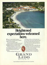 1991 magazine travel ad, Grand Lido Resort, Negril Jamaica- 052013