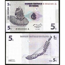 CONGO DEMOCRATIC 5  Centimes 1997 UNC  P  81