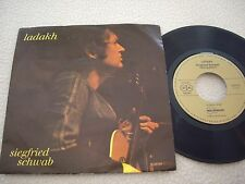 "SIEGFRIED SCHWAB - Ladakh / Lost Generations - 7"" Melosmusik Records 1979"
