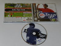 Tiger Woods '99 Playstation PS1 Video Game Complete
