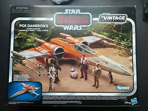 Hasbro The Rise of Skywalker Poe Dameron's X-Wing Fighter Plastic Toy Vehicle...