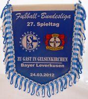 FC Schalke 04 + Wimpel Banner + Bayer Leverkusen + Sammler Edition SFCV (23)