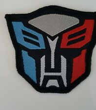 Transformers Autobots film Iron on Patch Sew on Patch transfer fancy dress
