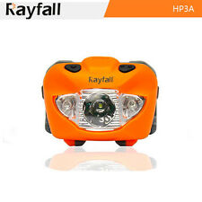 CREE XP-E Head Lamp LED Head Torch 160 Lumen Multimode Camping Headlight ORANGE