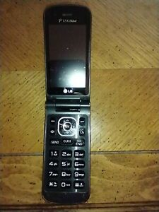 Black LG Wine 3 For US Cellular - excellent condition