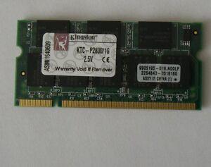 1GB RAM Speicher Dell Latitude C540 C640 C840 D400 D600  D500 D800 1024MB Memory