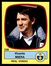 Panini Futbol 89 (España) Vicente Miera Real Oviedo Nº 238